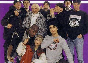 Влад Валов, Bad B. Aльянс, Бланж, DJRED и тд - Live / Москва, Фестиваль Rap Music 1999 / декабрь 1999 [INFO Sekira Bro.]
