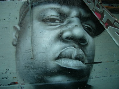 Mural Tupac and Biggie.