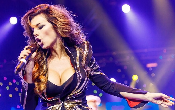 Певица Анна Седокова. #fuckcorona