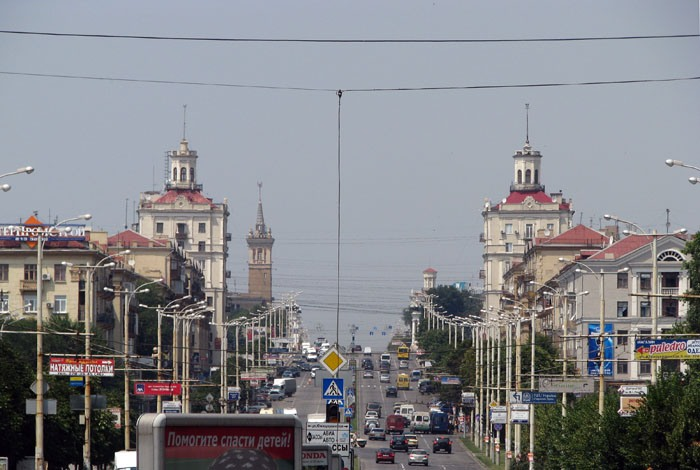 Zaporizhya DAY and NIGHT.