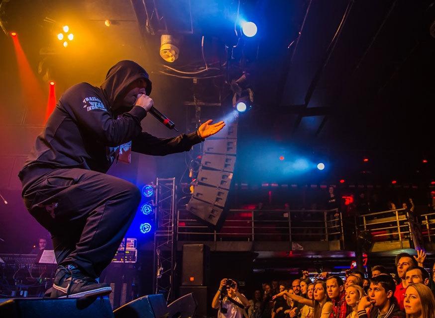Смоки Мо выступил в Санкт-Петербурге с треком — Брачо. (4 ноября 2019 г.) (видео)